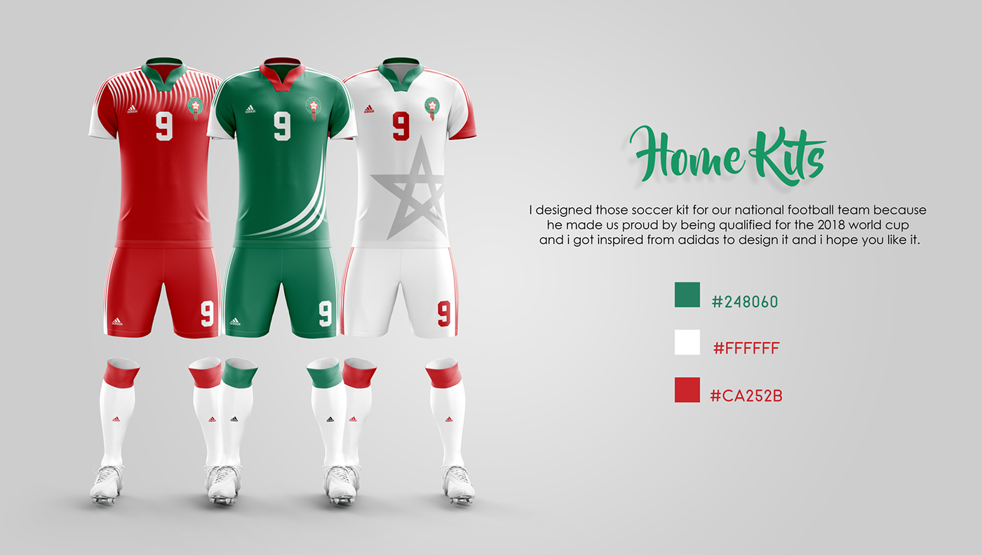 Morocco soccer kit - World cup Russia 2018  003915921