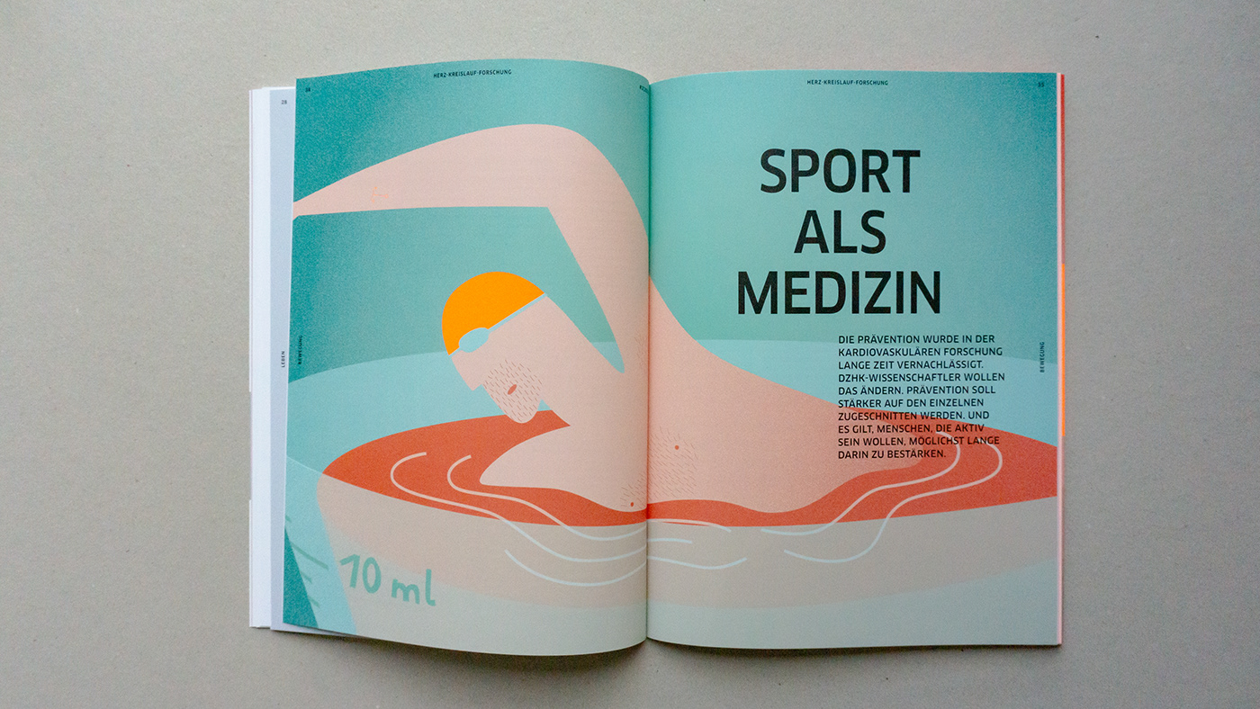 editorial forschung Gesundheit Health ILLUSTRATION  Prävention science Synergie translation agca