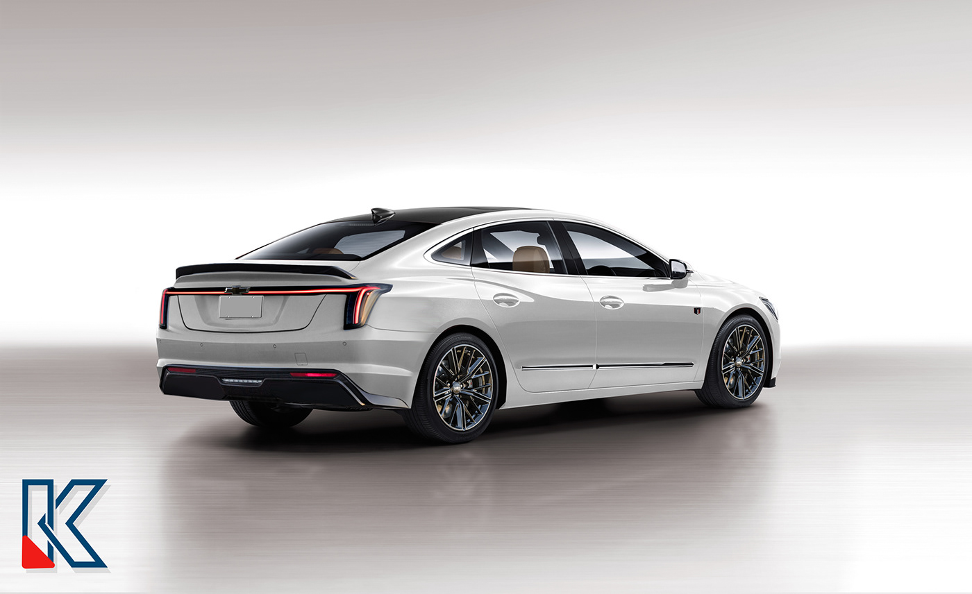 Automotive design concept car