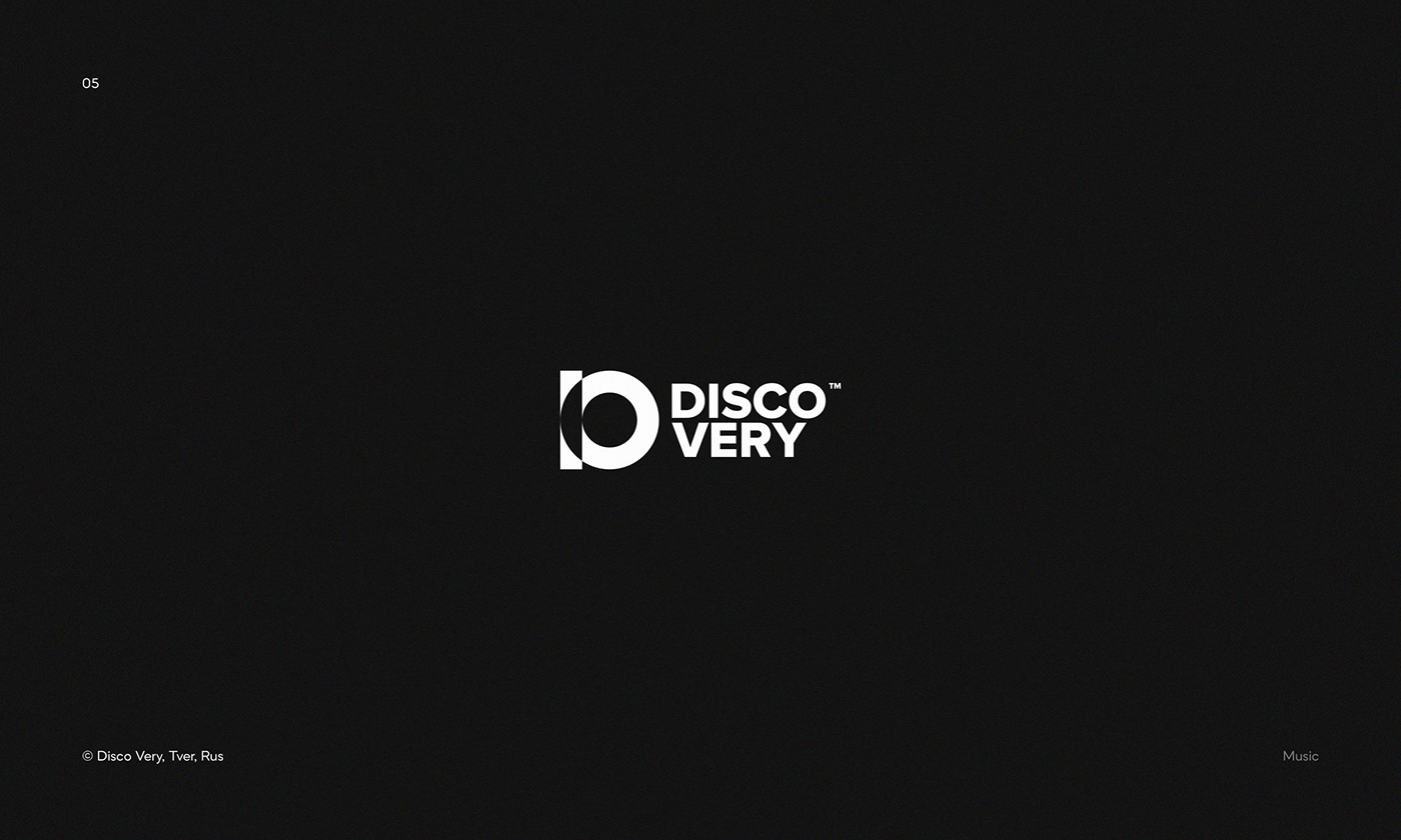 Logo for Disco Very — party and record diggers from Tver, Russia
