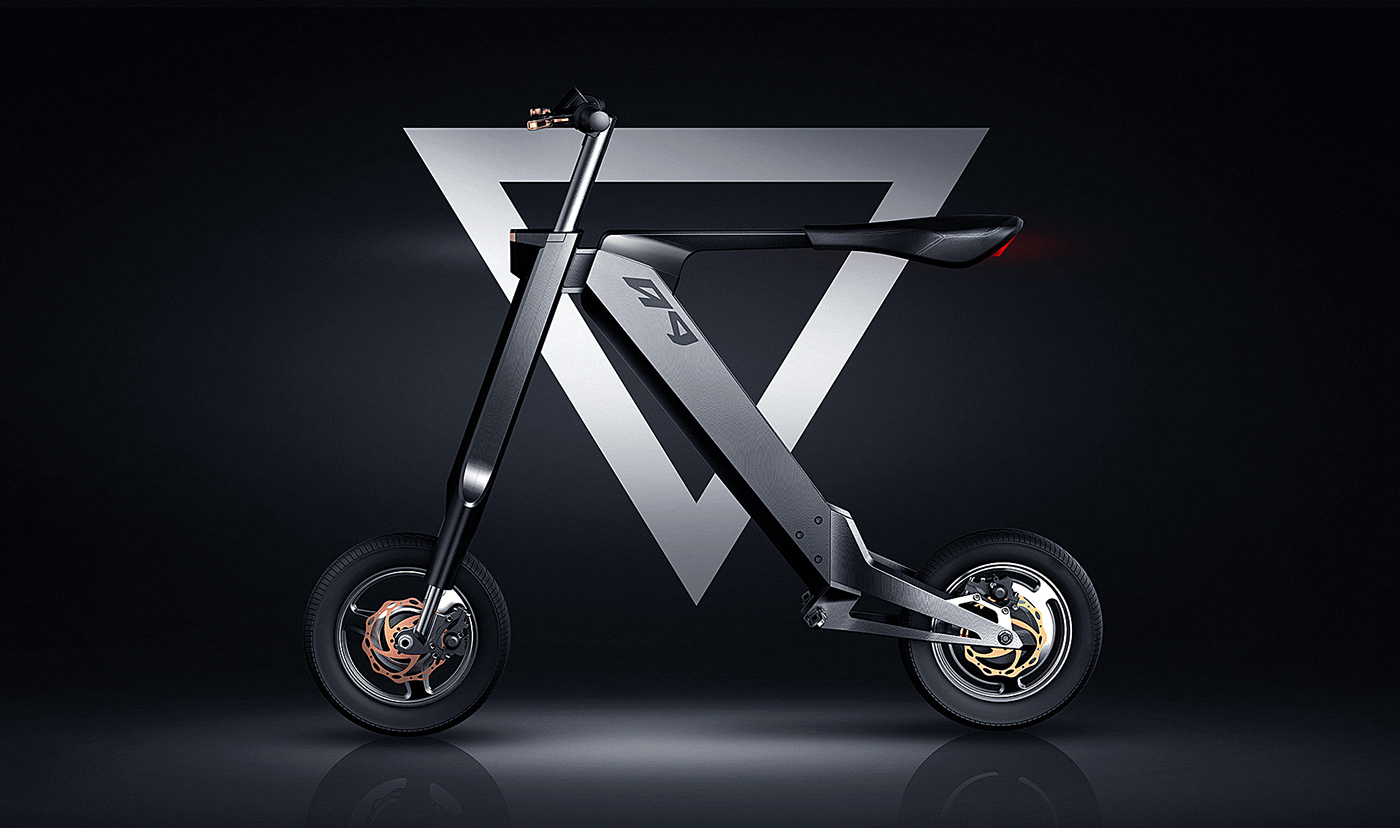 product Vehicle automatic folding Foldable electric Bike Scooter
