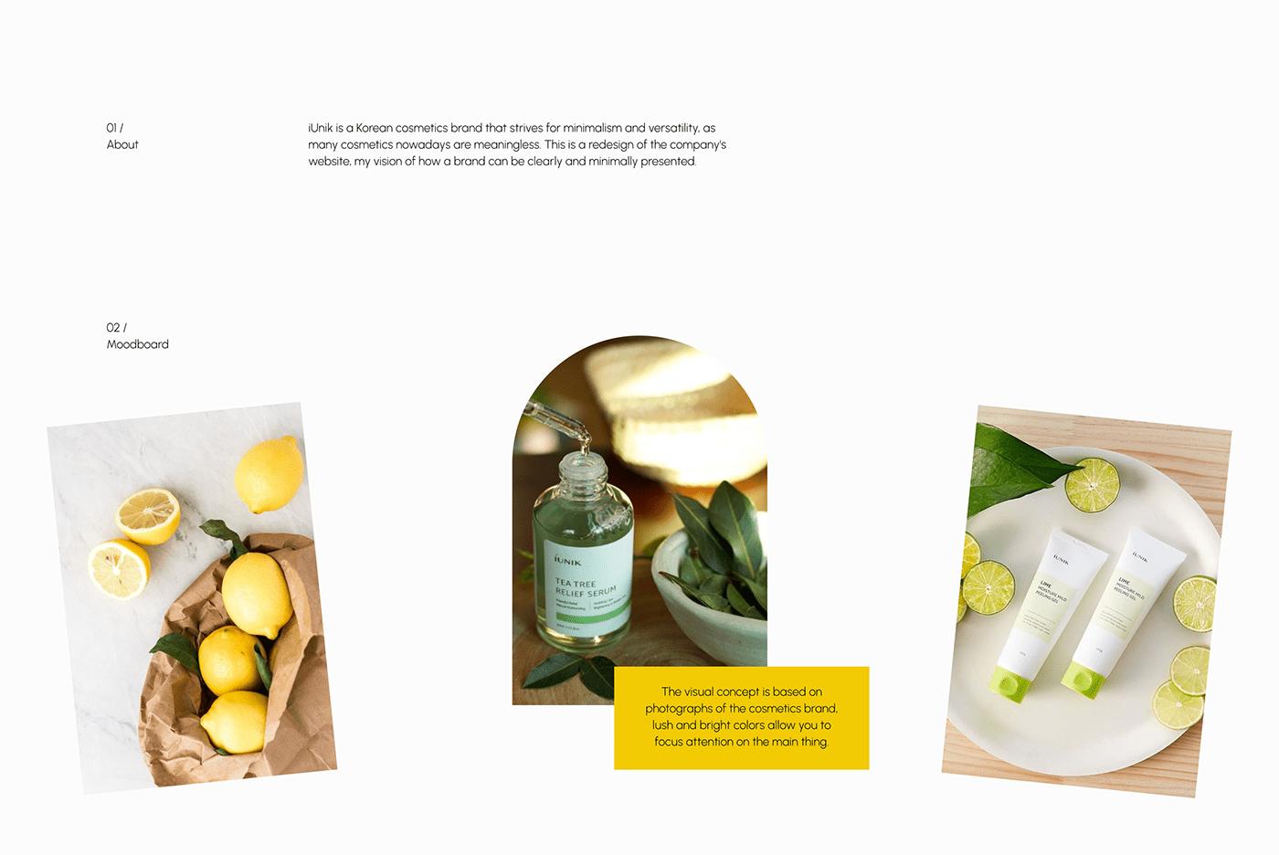beauty cosmetics Ecommerce Figma shop store UI/UX user interface Web Design  Website