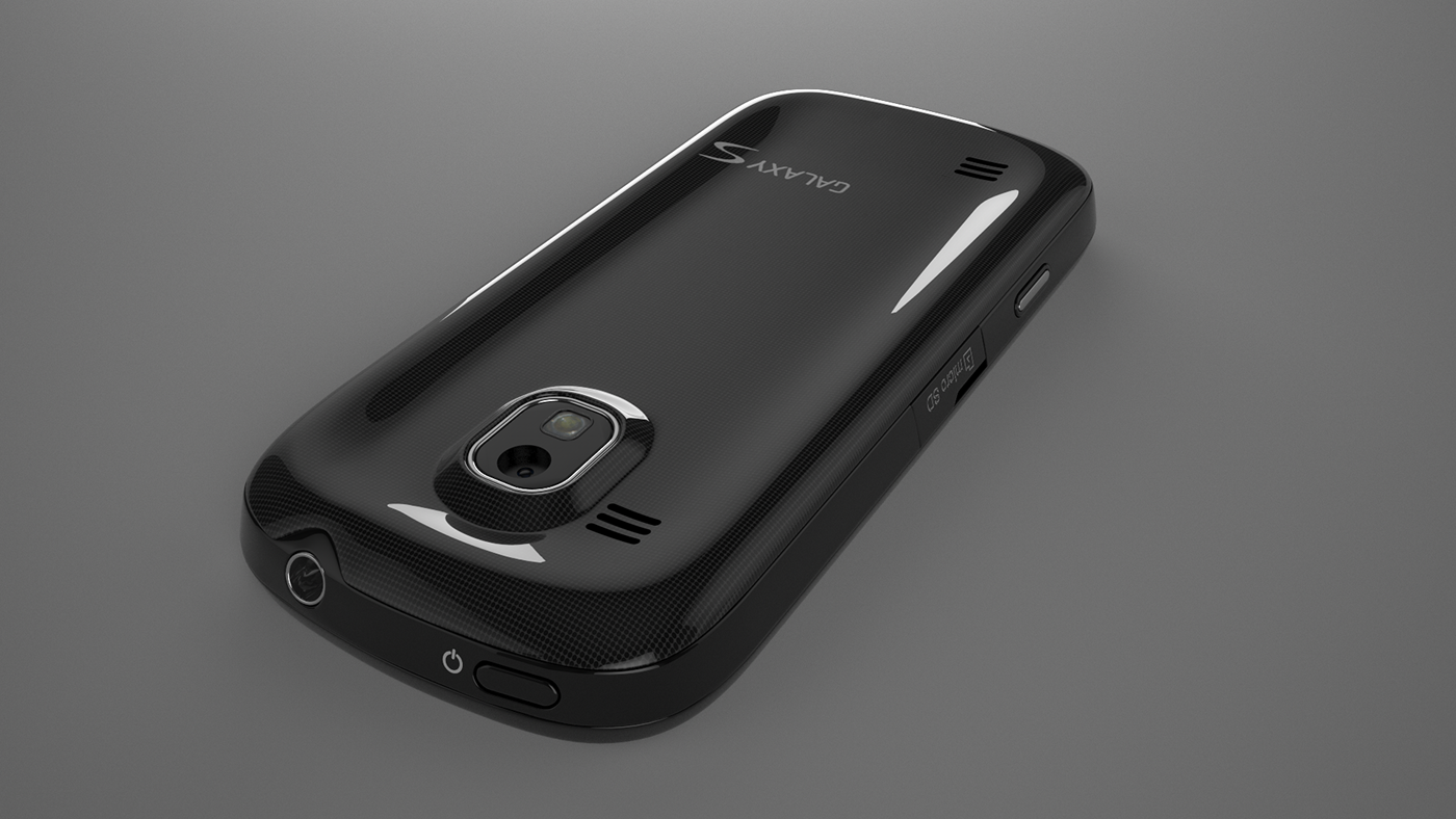 Samsung c4d cinema 4d phone verizon 3D