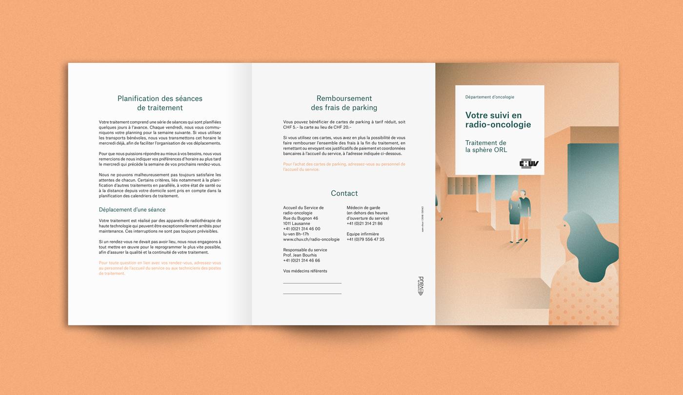 ILLUSTRATION ,hospital,Health,flyer,Duotone,pastel,vector