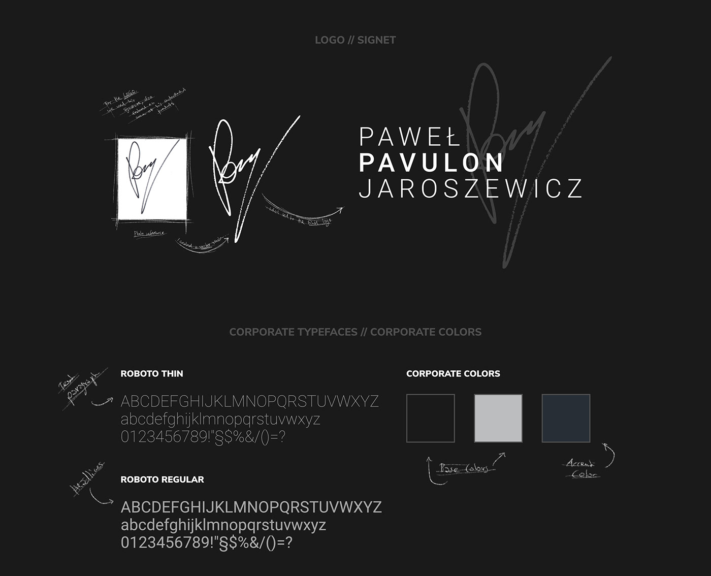 PAVULON // Logo