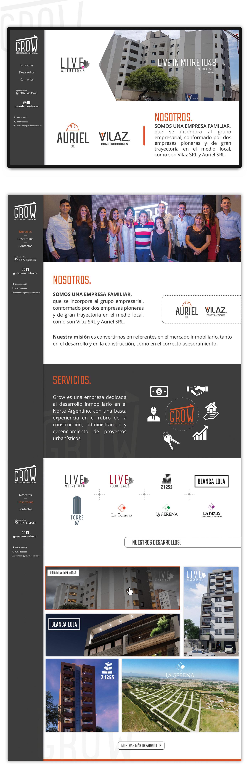 argentina joomla pagina web salta Web
