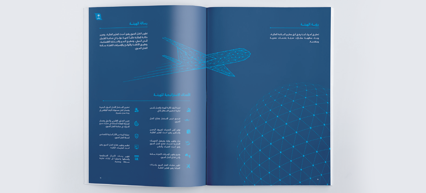 annual report design gaca publishing