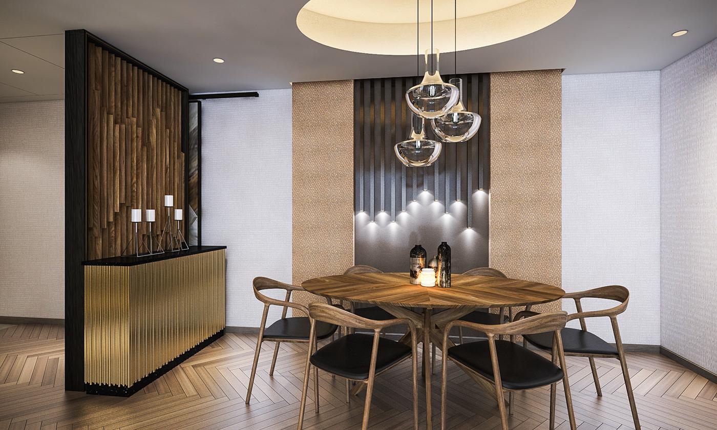 Service apartments renovation shanghai china kerry properties