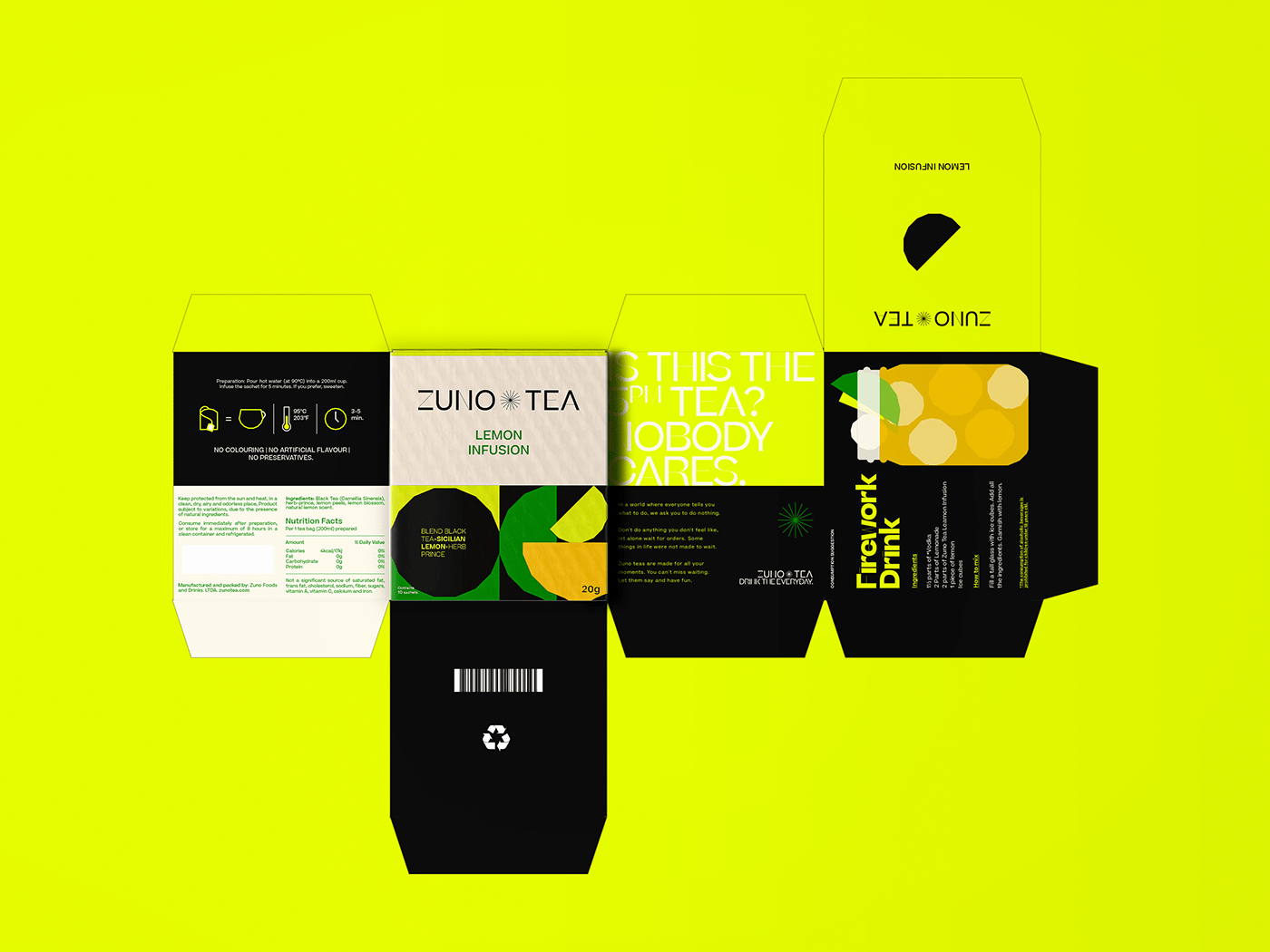 art direction, branding, design, fruit, grid, label, package, print, tea, packaging