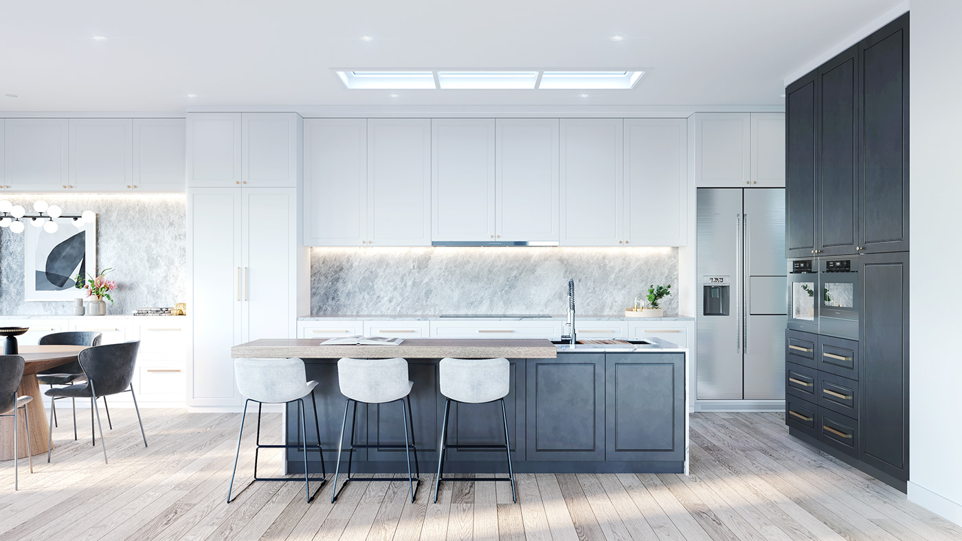 architectural Australia CoronaRender  exteriorrender house3D HouseRender Melbourne Townhouse victoria victorianbungalow