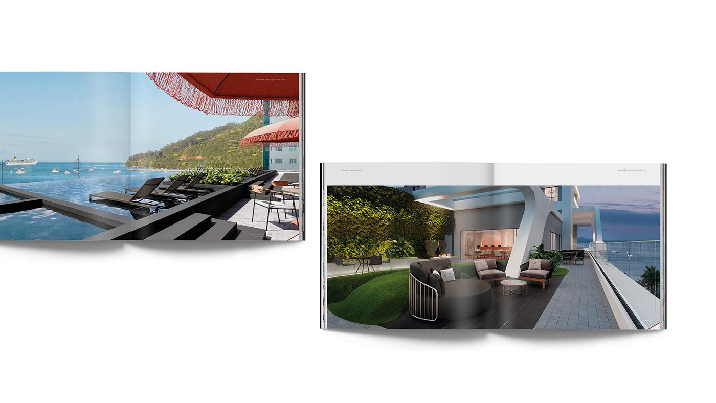 architecture ARQUITETURA balneario comboriou design editorial editorial Embraed empreendimentos graphic design  Santa Catarina Tonino Lamborghini