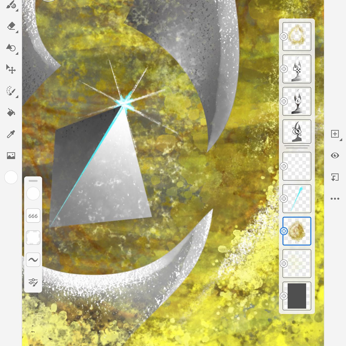 fresco Illustrator iPad