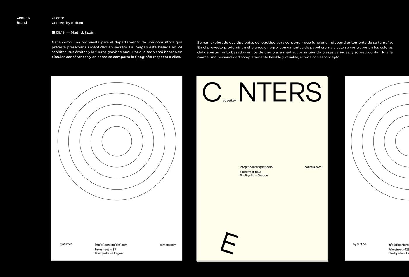 brand branding  cards circles color design graphic logo Stationery identity