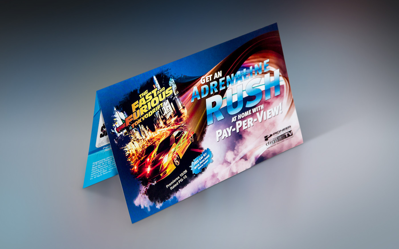 Movies on demand monthly bill insert mso matrix Transformers Direct mail harry potter fast and furious