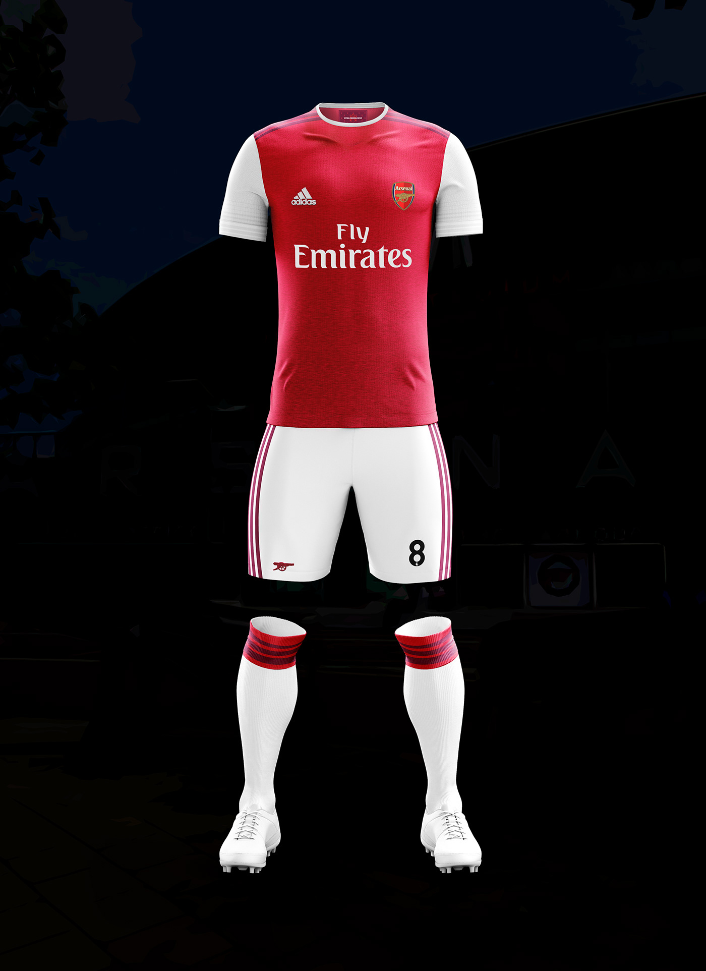 Arsenal x Adidas  Concept Kits 2019-20. Mark White •. Follow Following  Unfollow. Save to Collection ed69b82f0