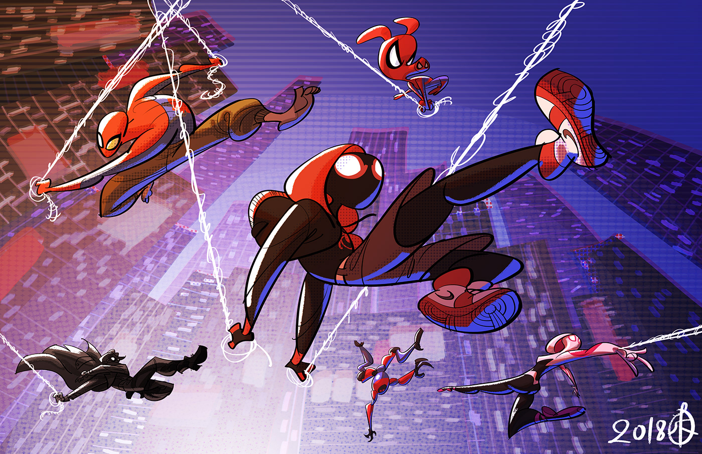 Into The Spider Verse On Behance