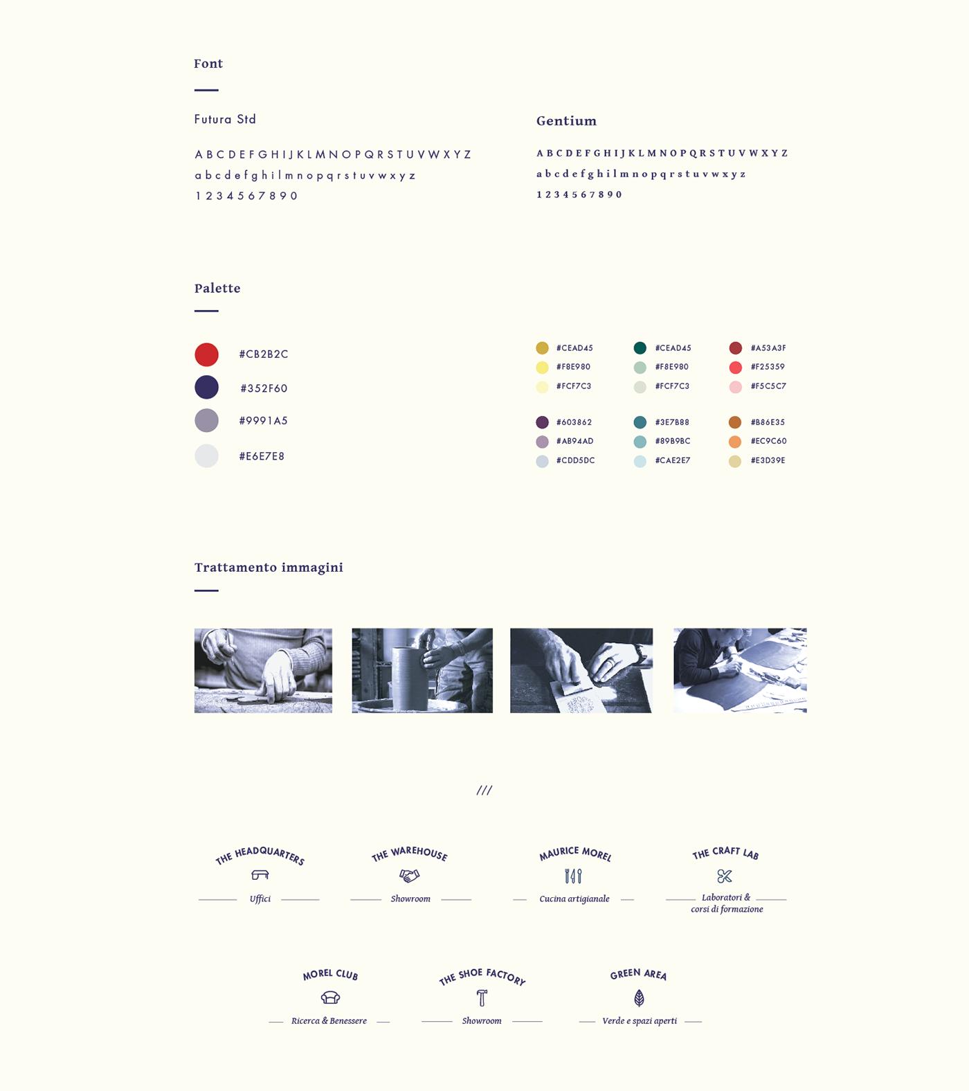 morel morelmilano coworking brand brandidentity collage