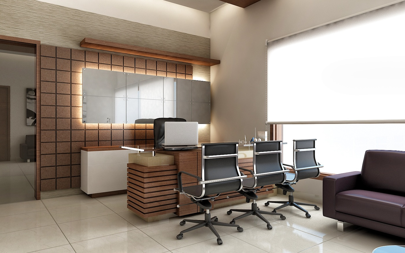 office renders behance