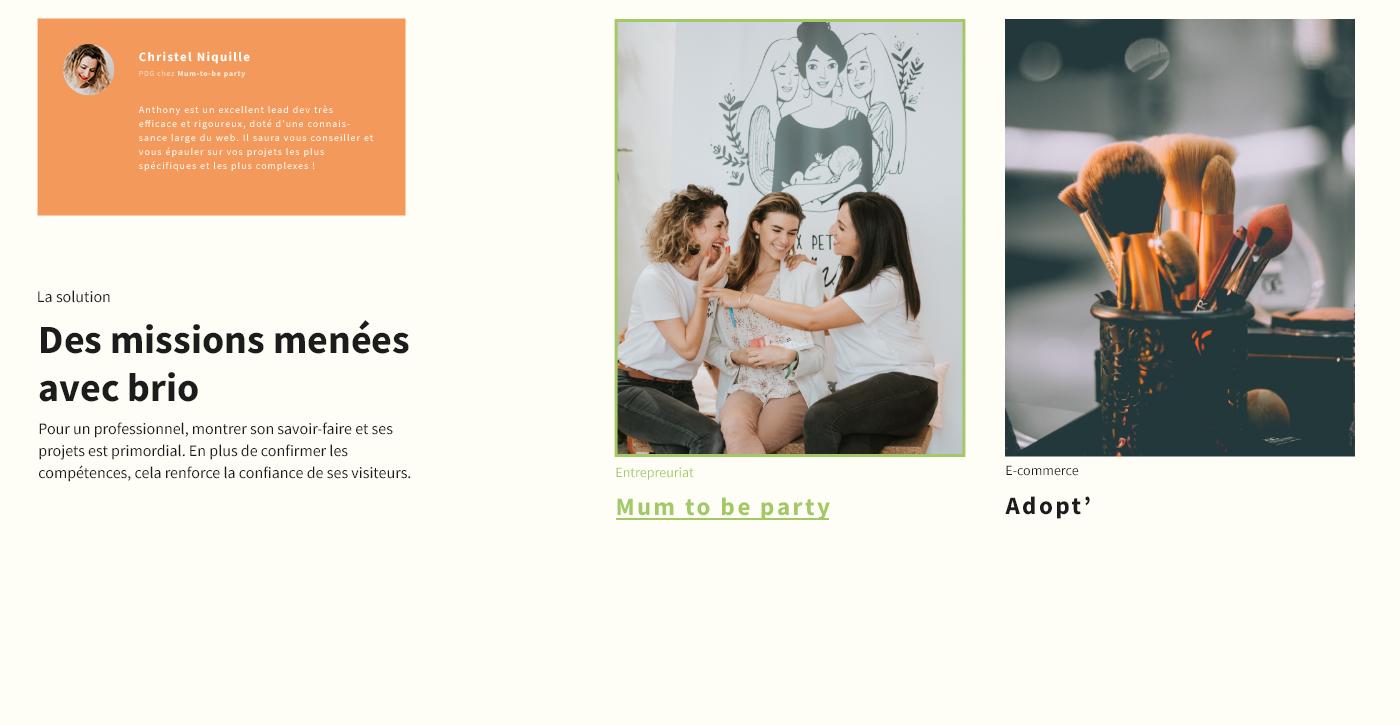 charte graphique cms direction artistique identité visuelle Interface logo site web ui design UX design