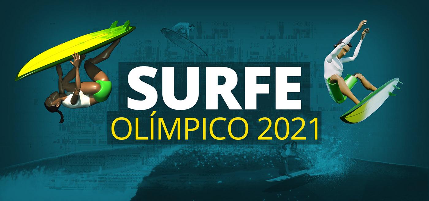 3D animation  infographics information design Surf Surfe Web Design