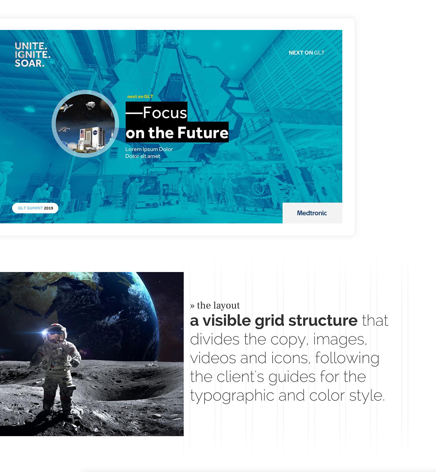 slides slide deck presentation slide presentation Google Slides Space  spaceship future aerospacial rocket