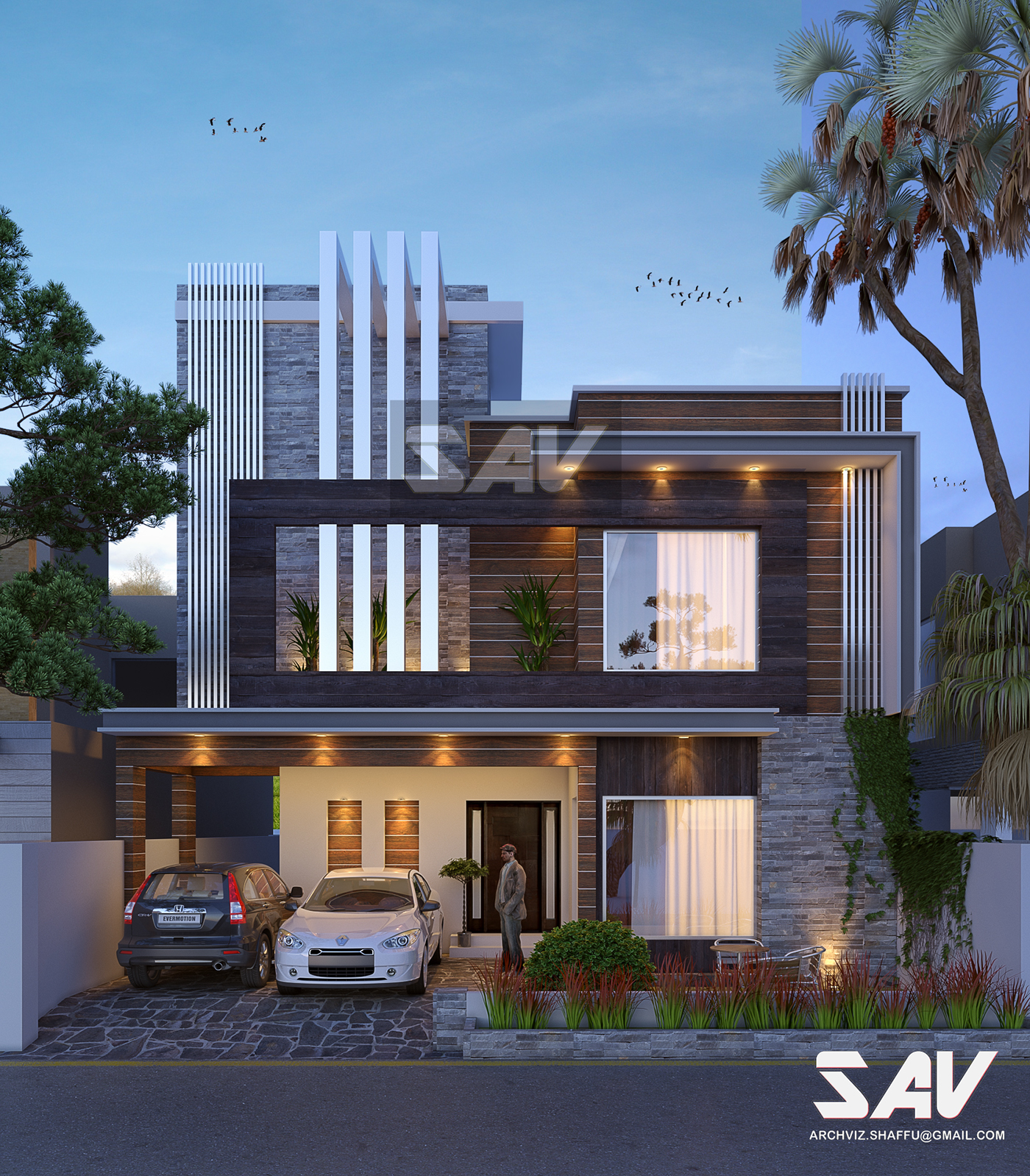 Small modern house in Lahore Pakistan on Behance