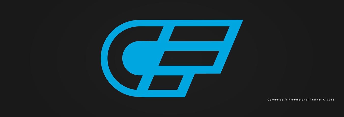 core force logo design