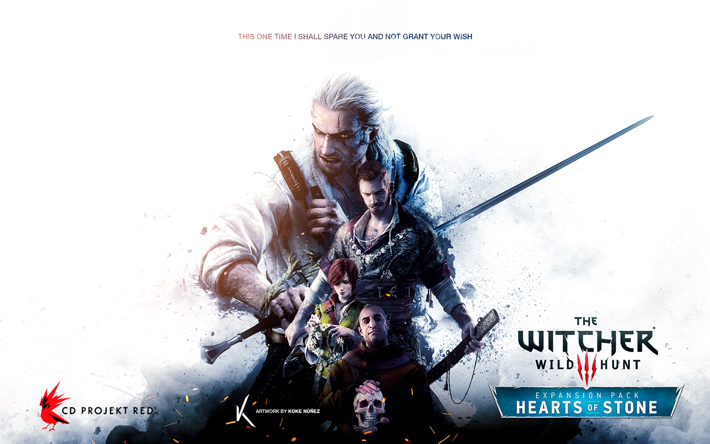 The Witcher Hearts Of Stone Fan Poster On Behance
