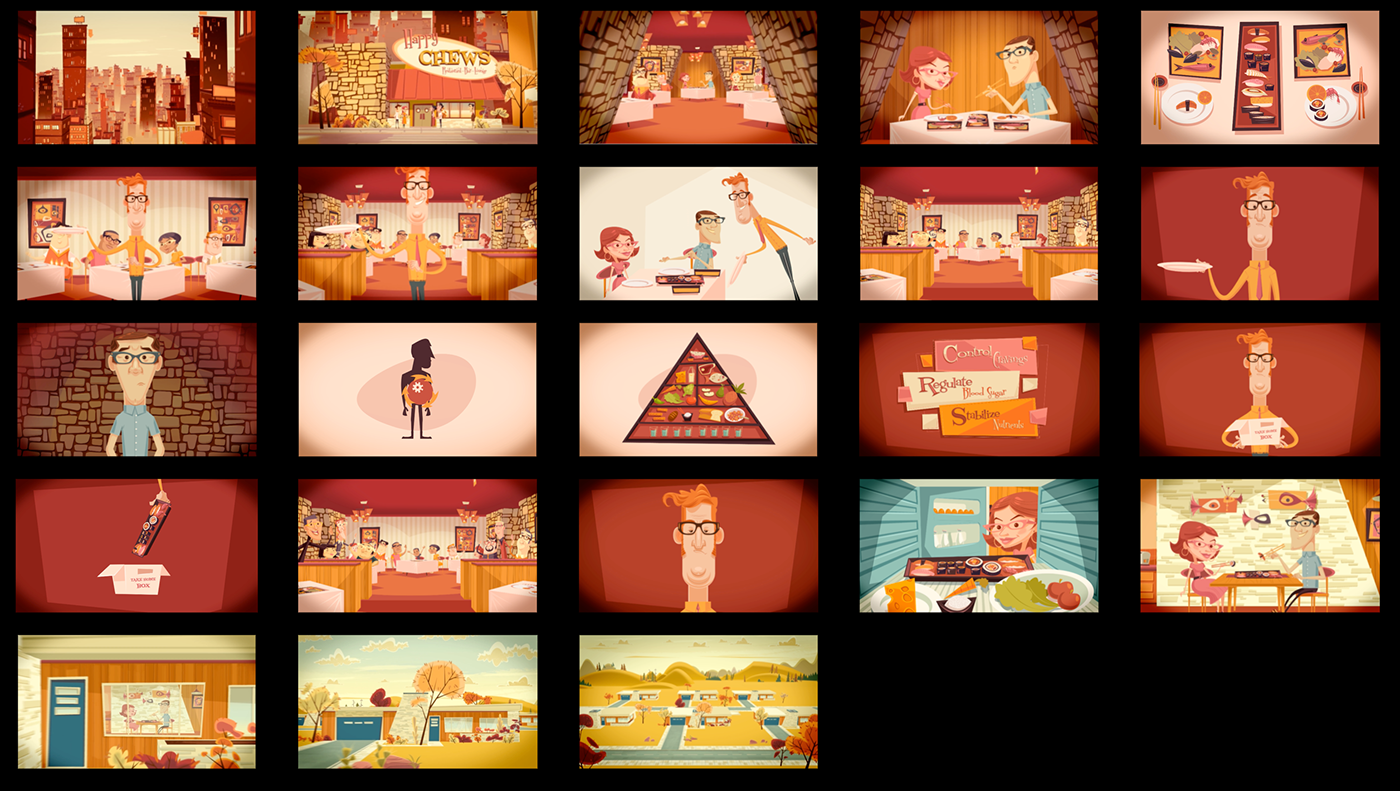 Character Design Job London : Healthcare animation on behance