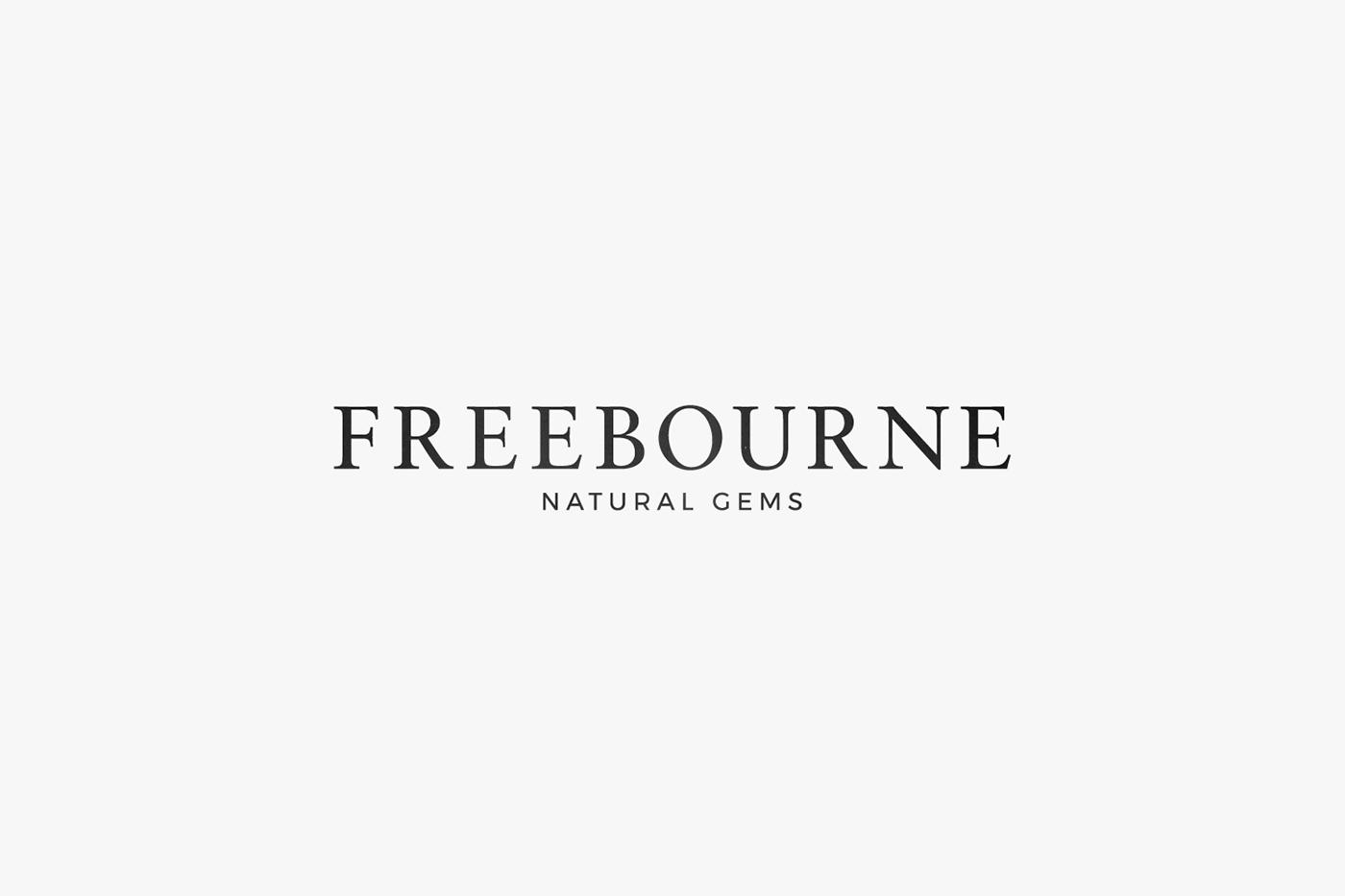 Paul Stancel Logo Design branding  brand identity monogram simple minimalist minimal bold Freebourne