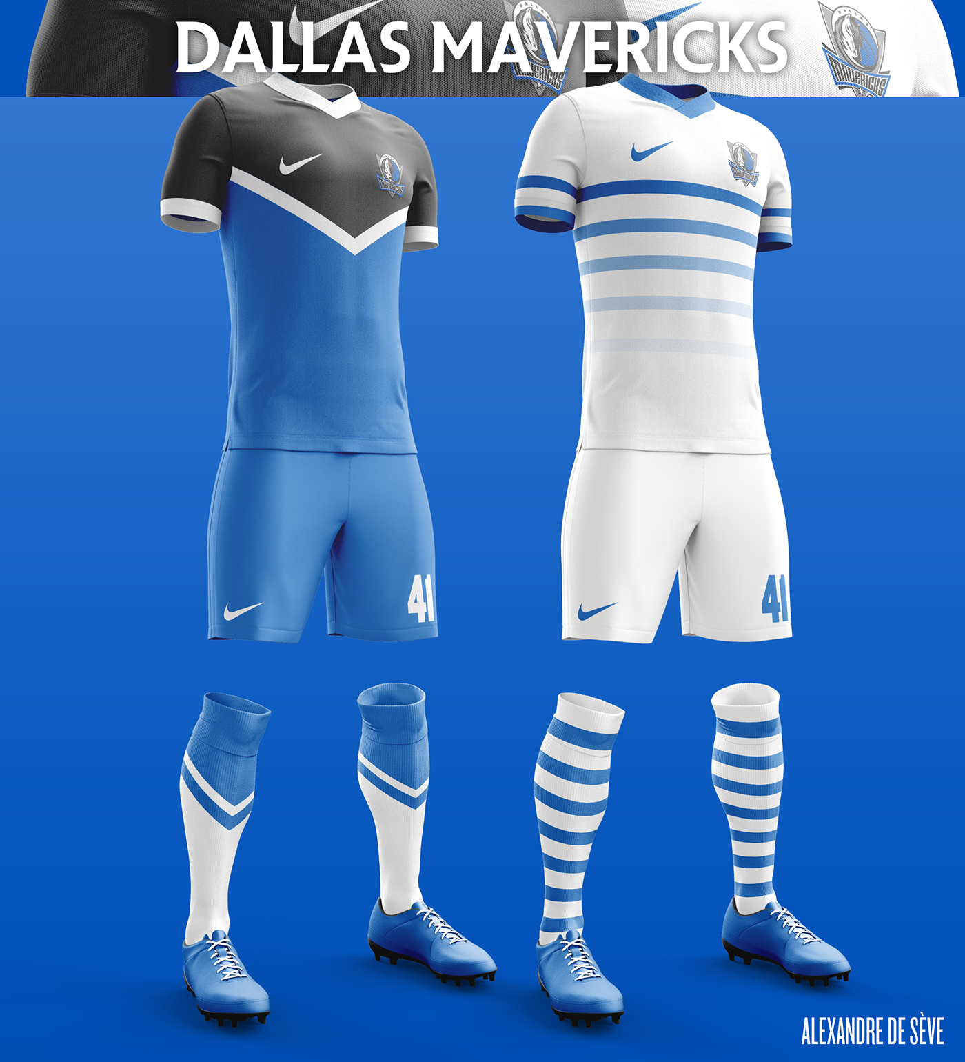 Talisman & Co. | Dallas Mavericks Soccer Concept Kit