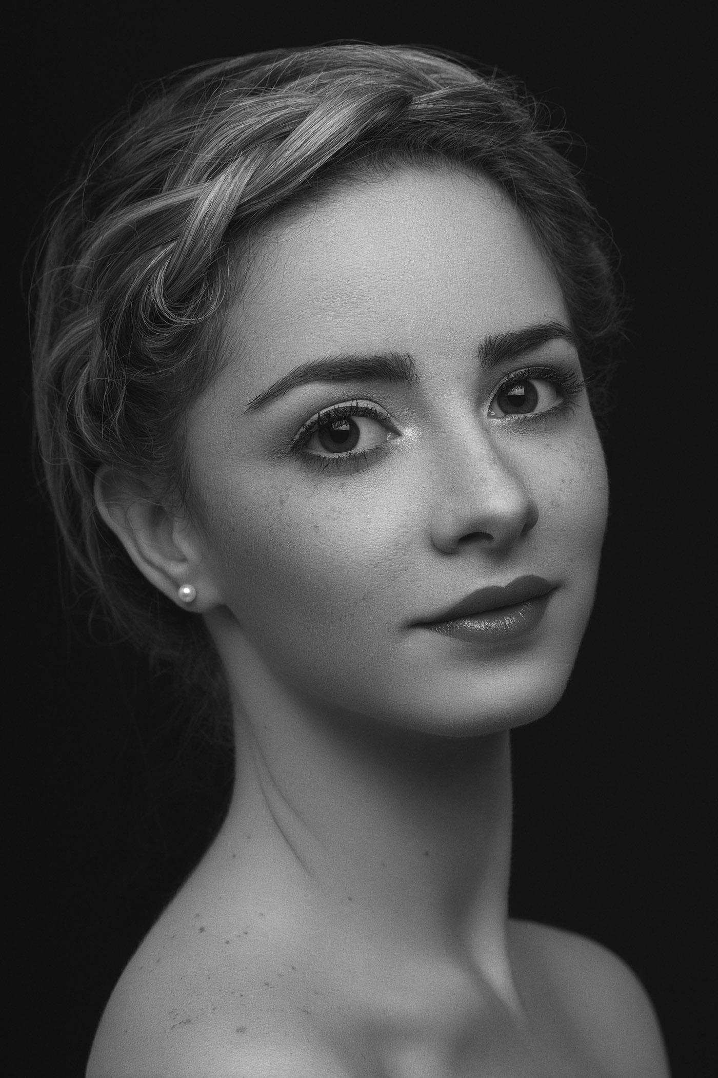portrait retouching  retouch freckles woman girl Santiago Dominican republic Photography