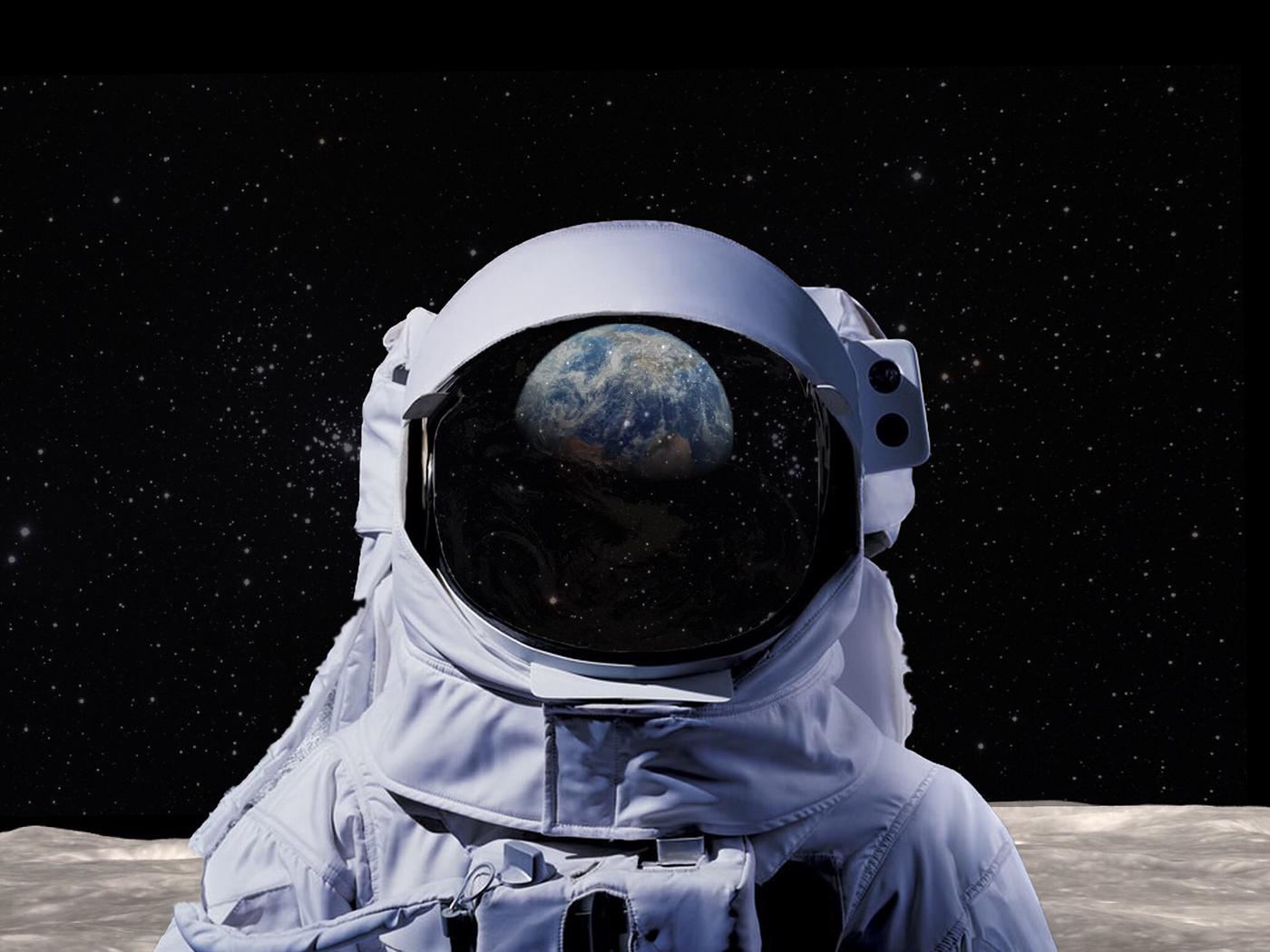 картинки космонавта шлем балетной студии имела
