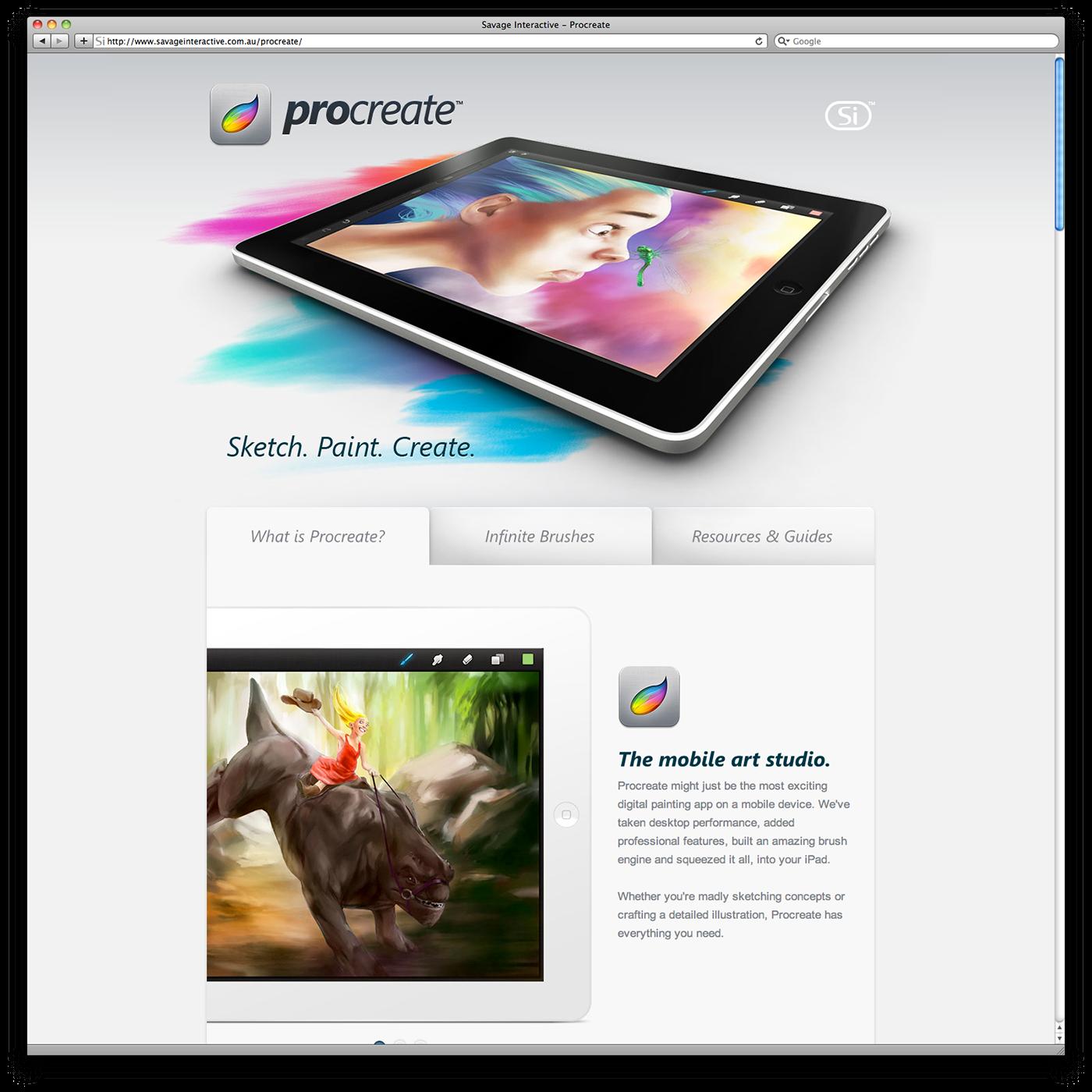Procreate icon design on Behance