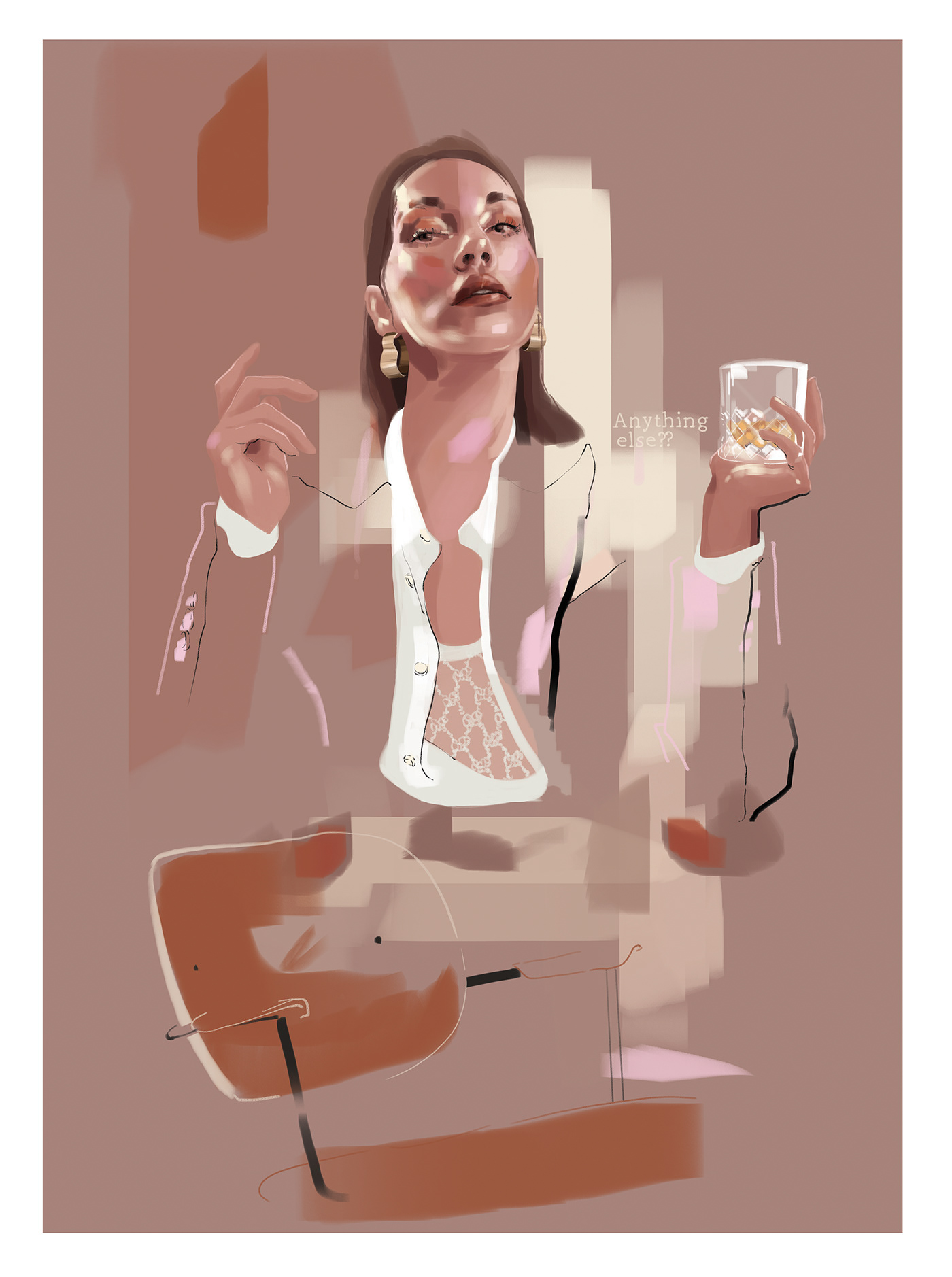 boss business corporate Fashion  fashionillustration manager Office scotch woman Woman Power
