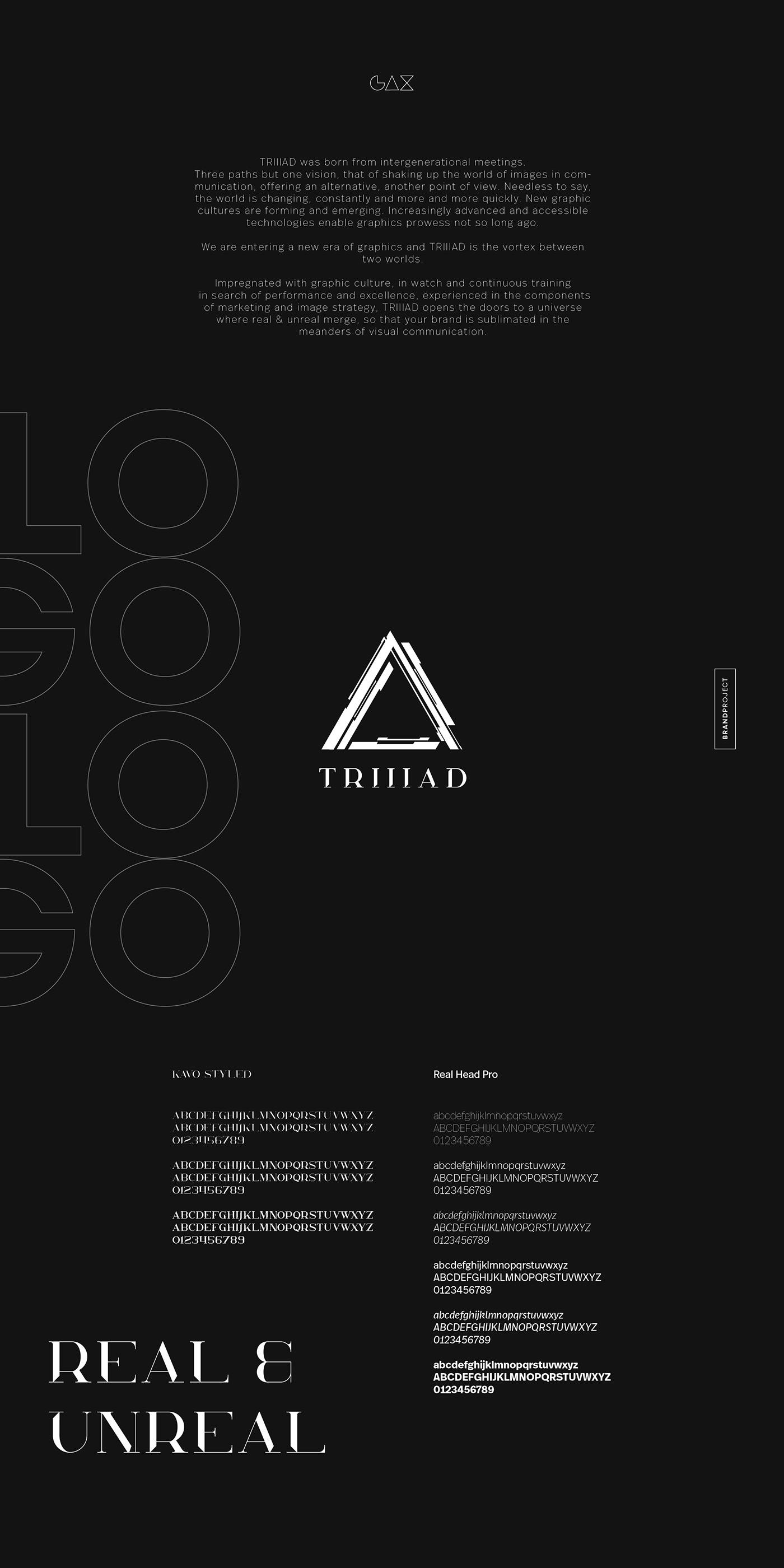 3D Aniamtion black mood brand branding  graphism identité visuelle logo Logotype tech