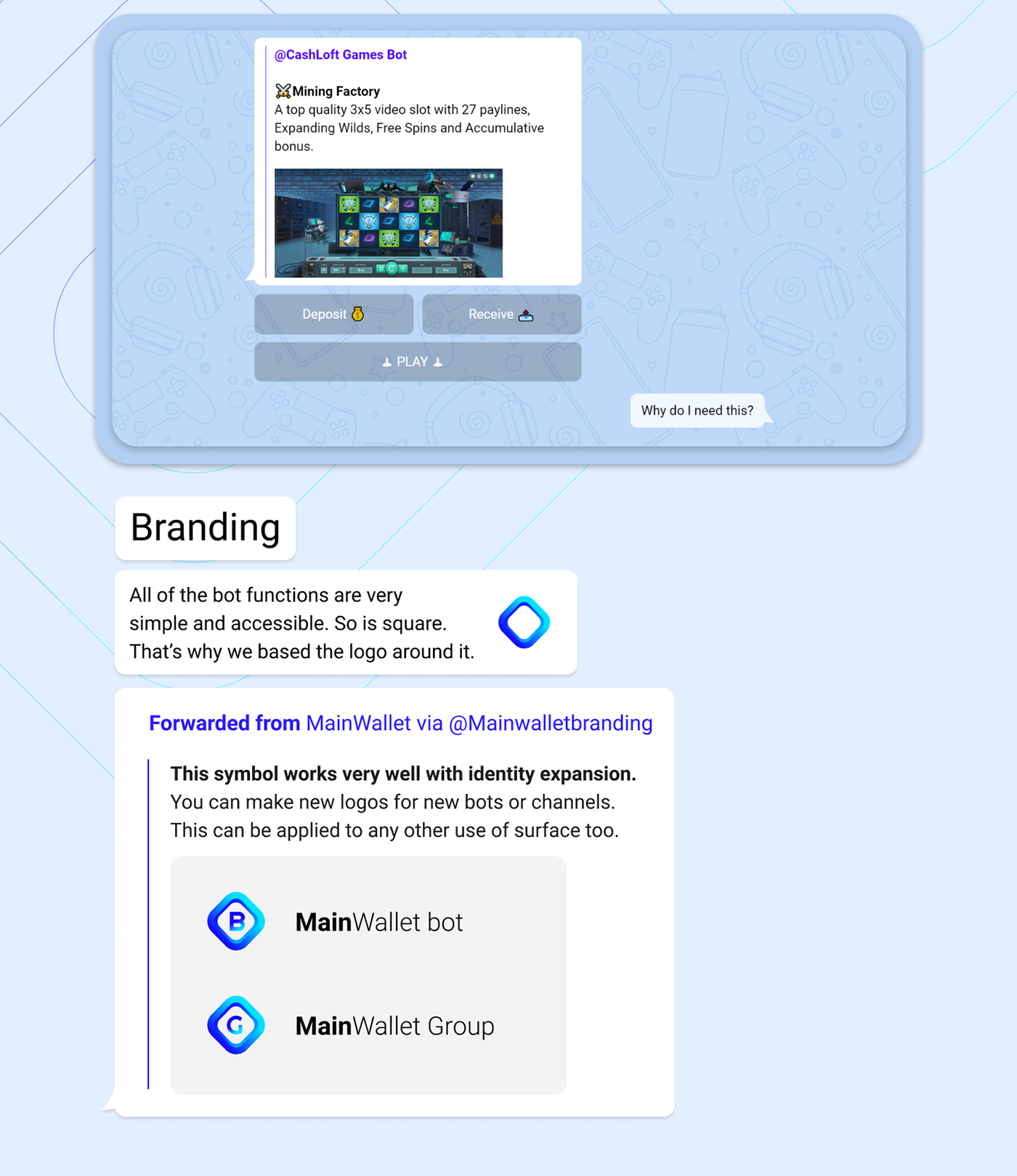 embacy Startup mainwallet crypto cryptcurrency landing landing page branding
