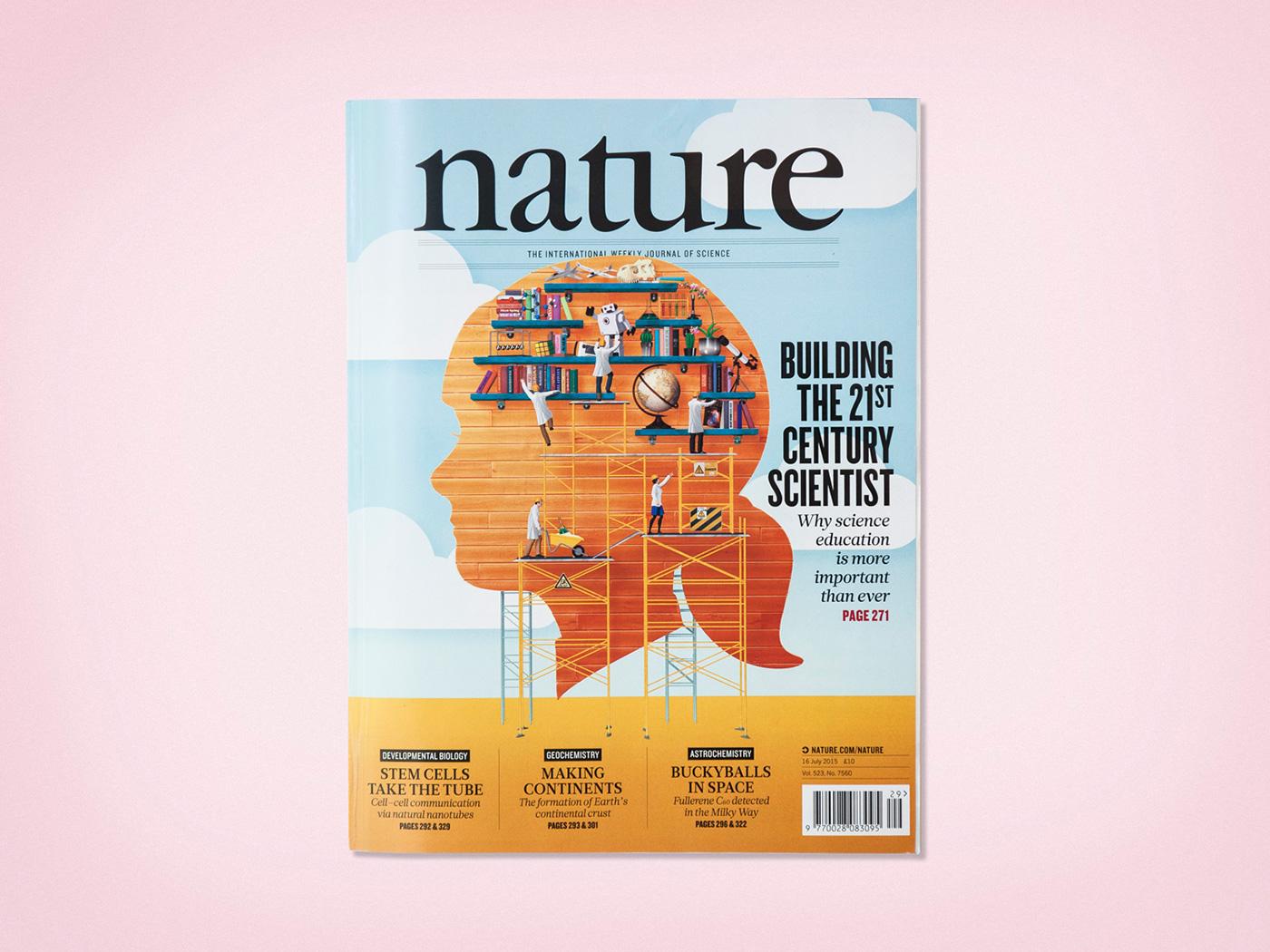 Nature Magazine On Behance