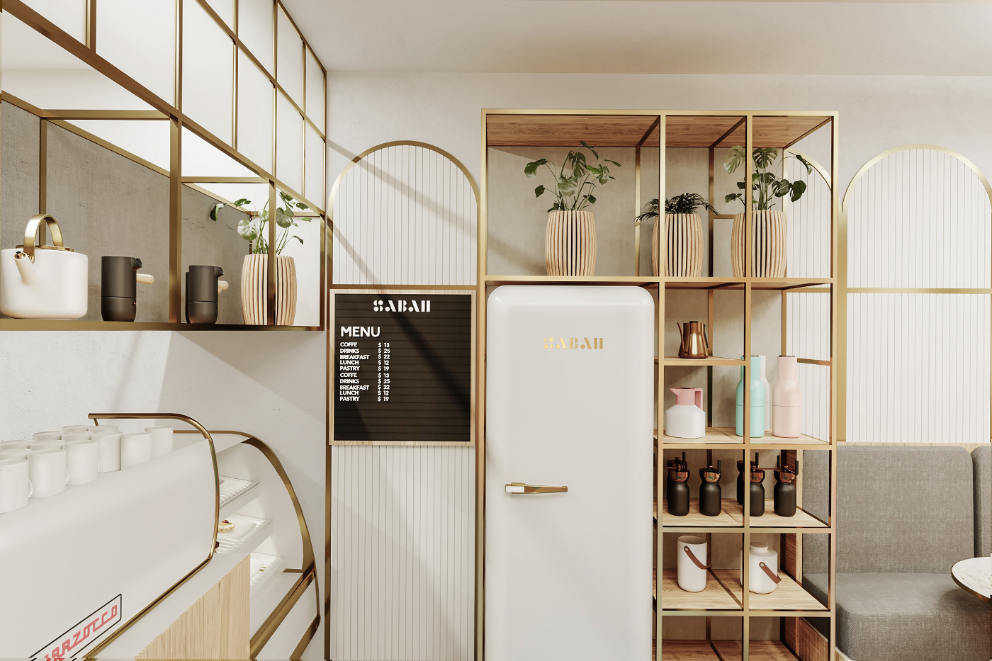 Sabah Brand Identity & Interior Design by Futura .