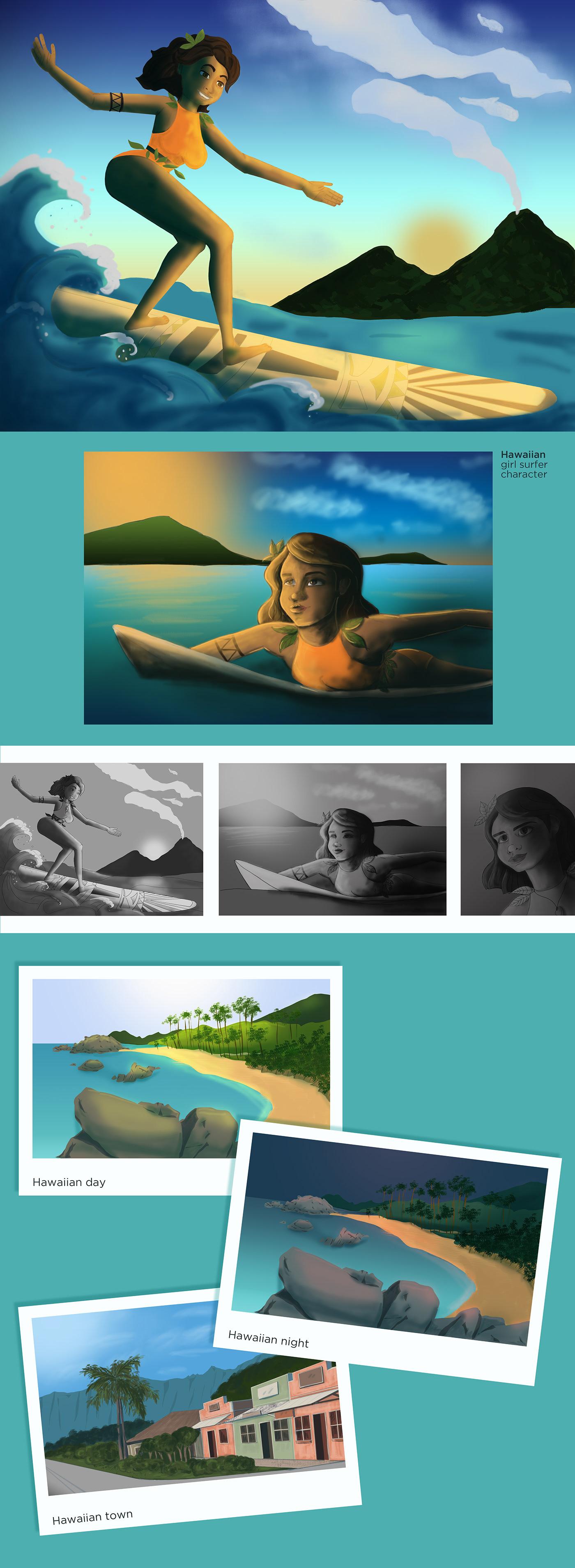 Image may contain: cartoon, human face and swimming