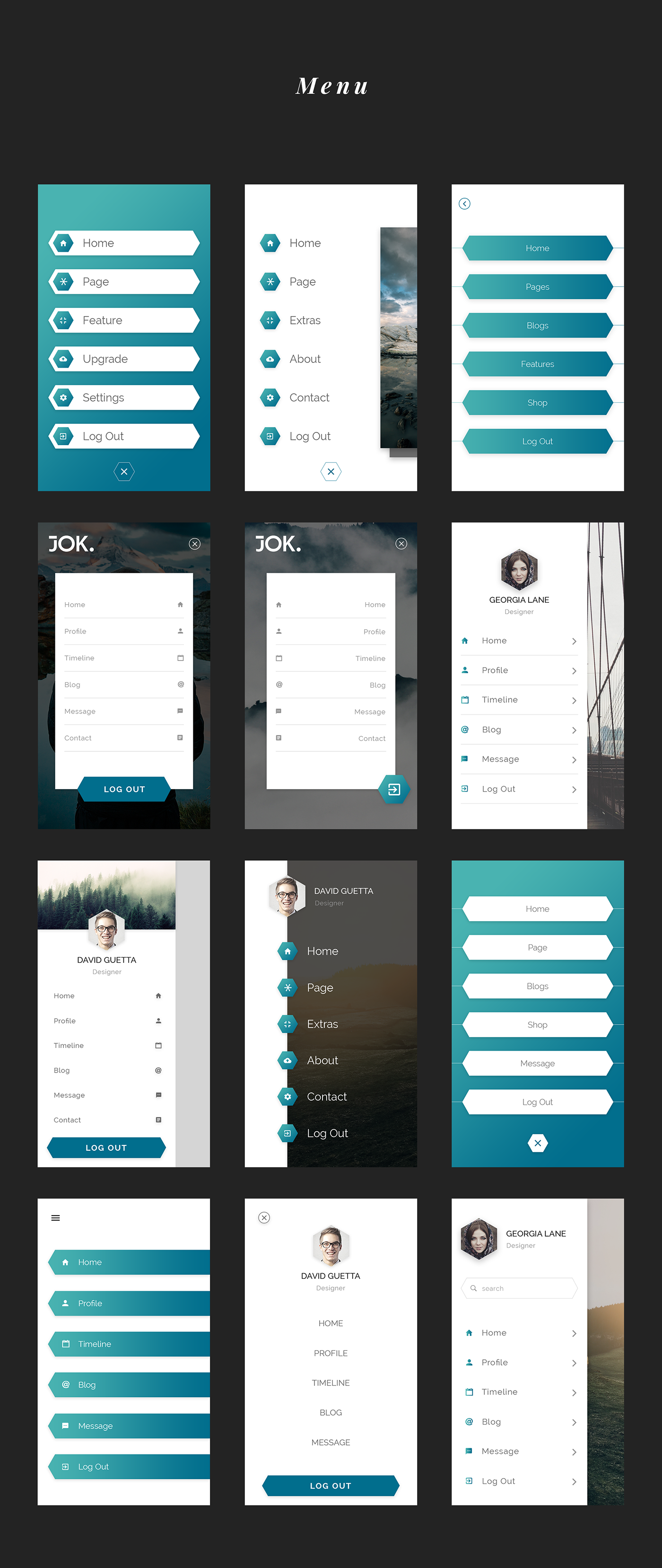 Jok Mobile UI Kit - 3