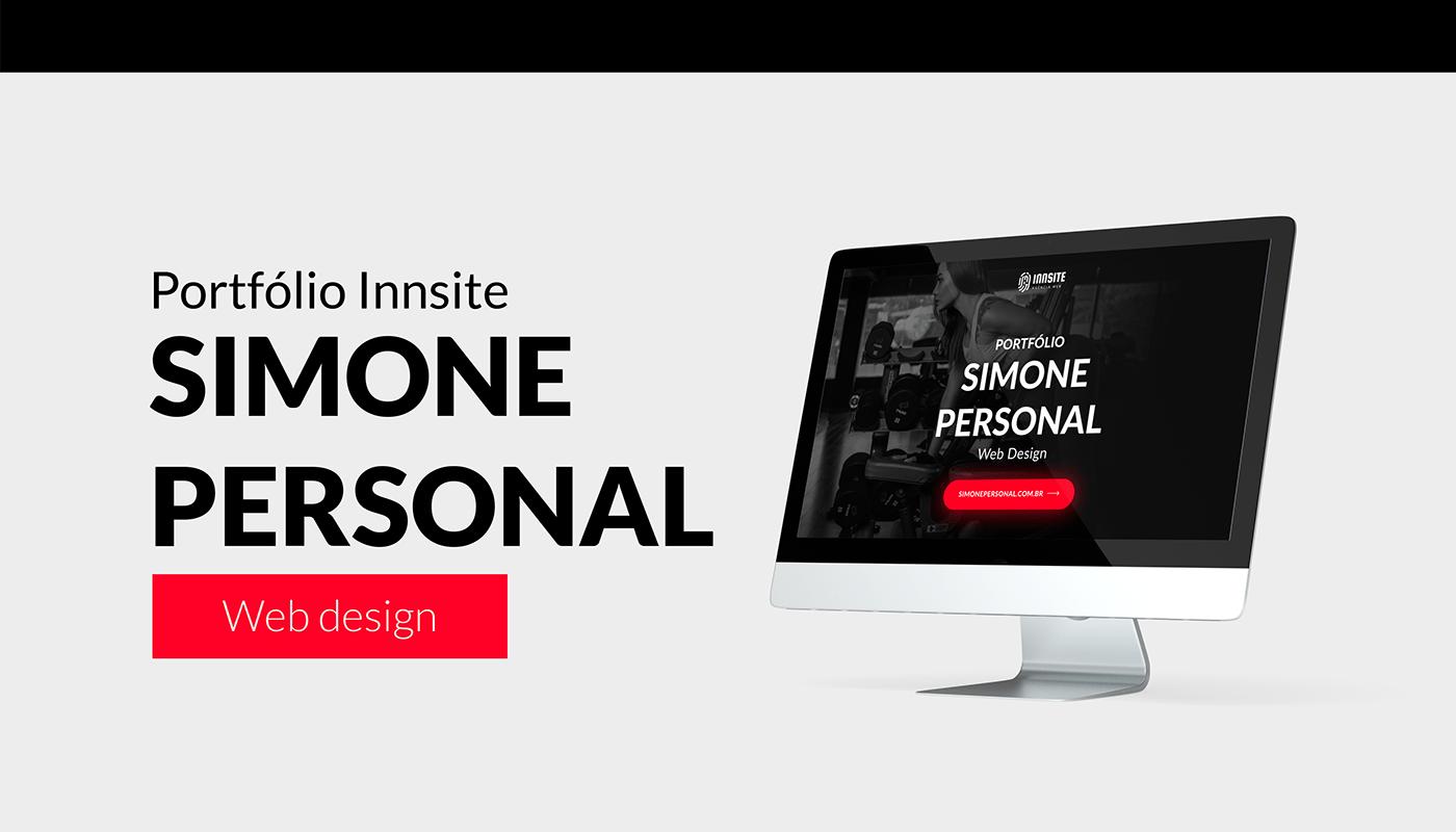 Brasil personal training são paulo UI/UX Design Web Design