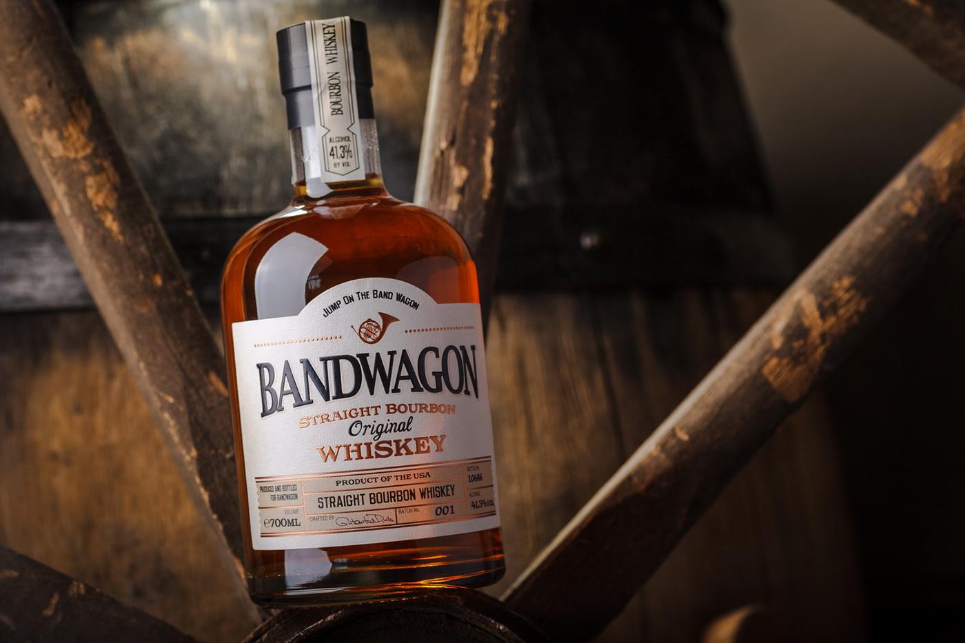 bandwagon 43oz Moldova belgium label design bourbon Whiskey Packaging sodiko