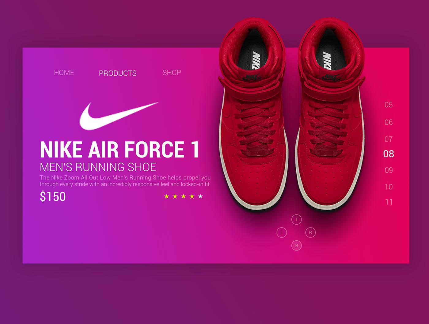 Tengo una clase de ingles Ortografía Desaparecido  Nike web design - Inspiration from Ranjith Alingal on Behance