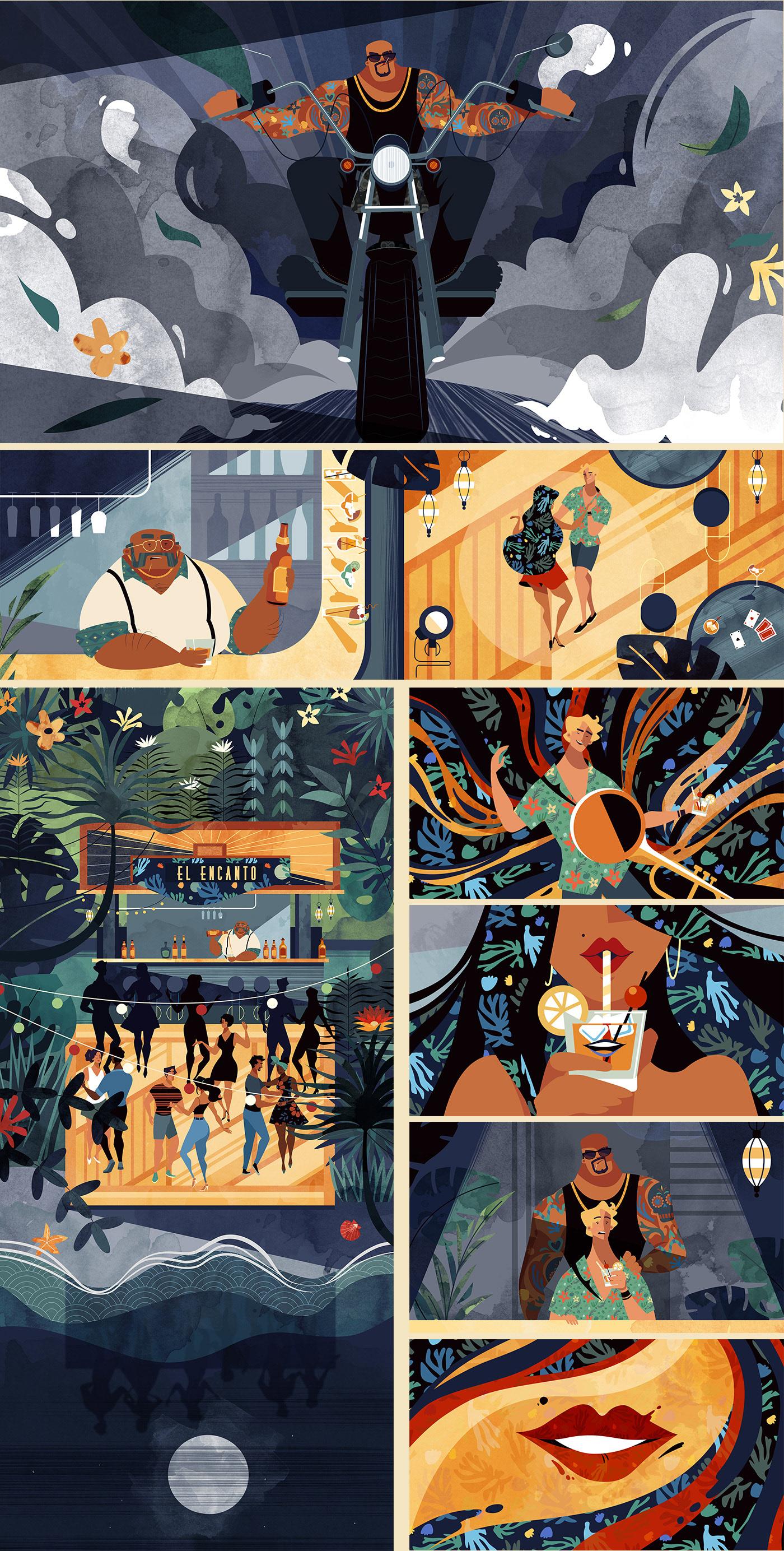 animation  DANCE   ILLUSTRATION  music video textures art direction  Cel Animation direction Nature storytelling