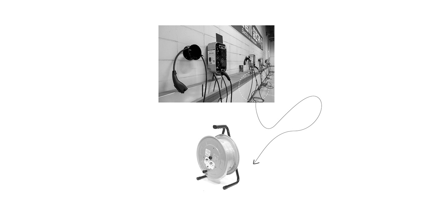 Cable charger design ELCTRICCARCHARGER electriccar industrial machine object portable product