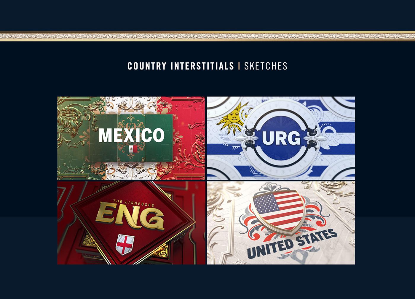 FIFA Womens World Cup 2019   Fox Sports on Behance
