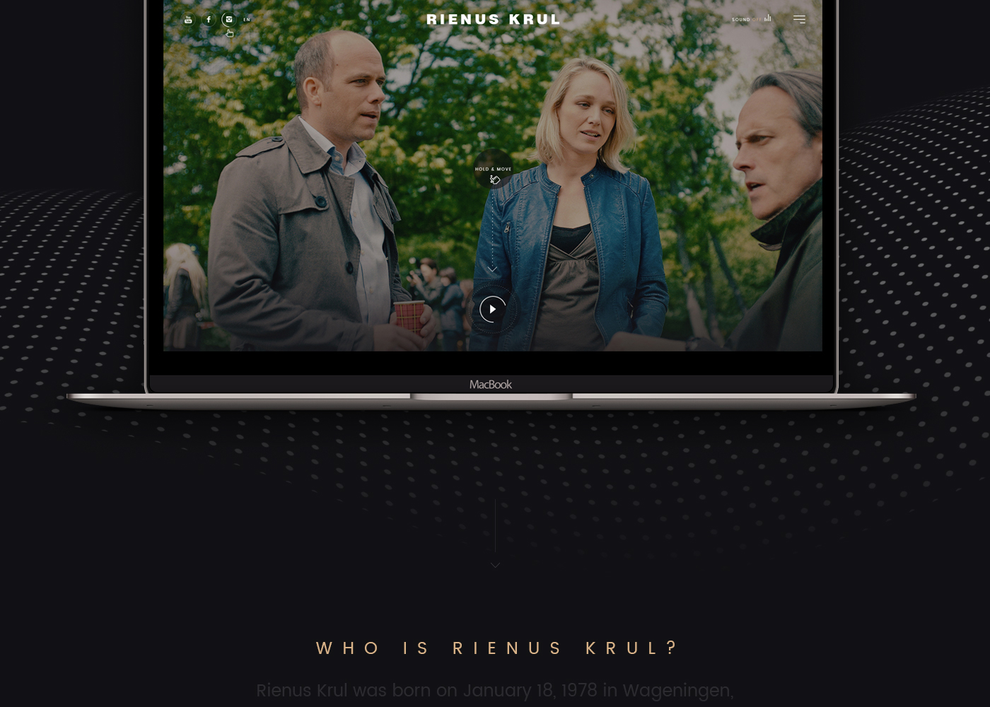 RIENUS KRUL,official,Web,Interface,interaction,design,dubai,agency,pixelzeesh,portfolio