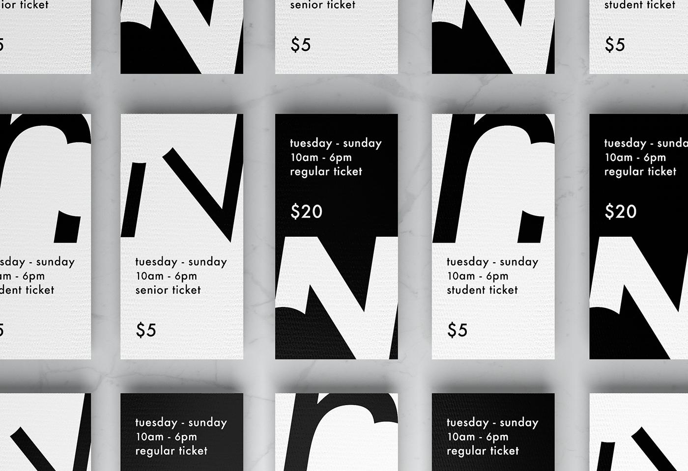 poster ticket exhibit Exhibition  branding  VI Web wayfinding Behance portfolio