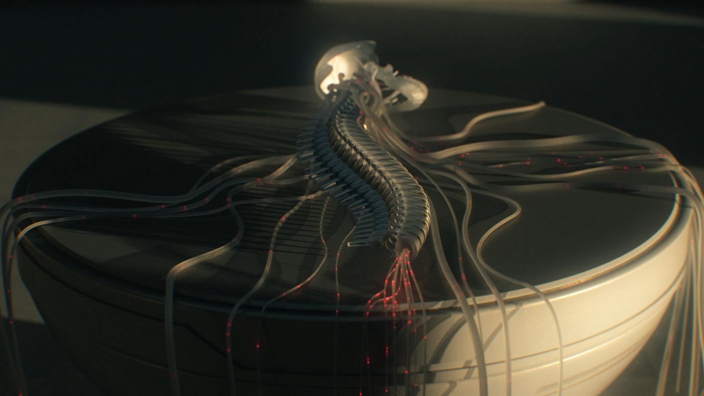3D ai Androids c4d cyborgs robots the neophytes The New Gods